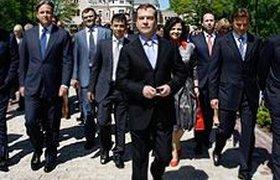 Медведев лично выслушал жалобы бизнесменов на правительство