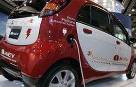 Mitsubishi первым начал выпуск электромобилей