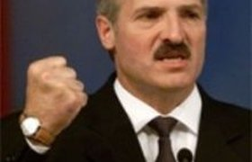 Лукашенко и девочка