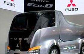 Mitsubishi хочет покорить Россию гибридными малыми грузовиками