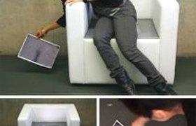 Кресло со встроенным ксероксом