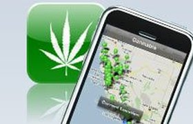 Владельцы iPhone теперь могут покупать марихуану
