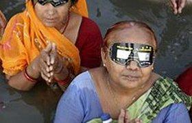 Солнечное затмение вызвало массовый психоз в Индии