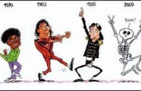 Карикатура на Майкла Джексона