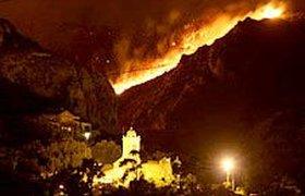 Военные сожгли лес в пригороде Марселя. Фоторепортаж
