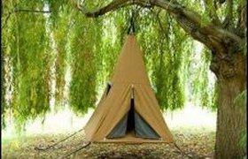 Палатка на весу