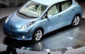 Nissan показал свой первый массовый электромобиль