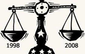 Россияне считают кризис 1998 года страшнее, чем нынешний