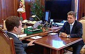 """Медведев приказал """"Газпрому"""" не менять газовый контракт с Украиной"""