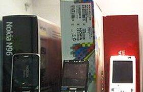 Продажи сотовых телефонов в России в 3 квартале упали на треть