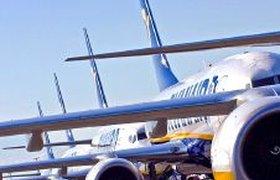 Ryanair снижает цены на авиабилеты в зимний период