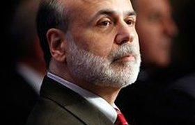 Человеком года журнал Time назвал главу ФРС США Бена Бернанке