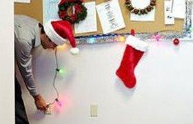 Новогодние чудеса в офисе