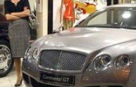 Спрос на Bentley в России упал меньше, чем в США