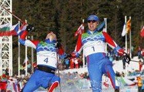 Российские лыжники завоевали золото и серебро. ВИДЕО