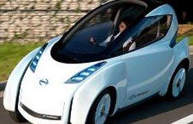 Nissan представил новый футуристический гибрид. Видео