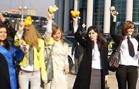 В Москве впервые отметили День офисной любви и дружбы. ФОТО. ВИДЕО