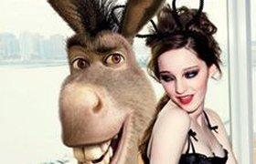 Шрек, принцесса Фиона и Осел в эротической фотосессии. ФОТО