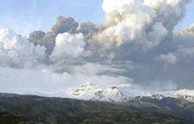Облако с пеплом движется прямо на Россию
