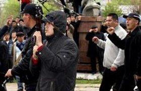 В Бишкеке идут погромы и самозахват земель