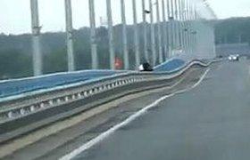 Волгоградский мост открыли для легкового транспорта