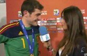 Поцелуй испанского вратаря