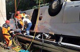 Автобус с российскими туристами перевернулся в Анталье, ранены шестеро