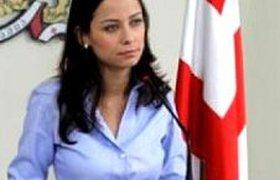 Министр экономики Грузии объяснила историю с компрометирующим кадром. ФОТО