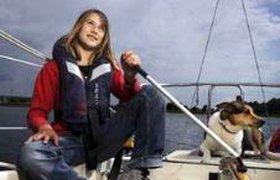 Самая юная в мире мореплавательница начинает кругосветное плавание. ВИДЕО