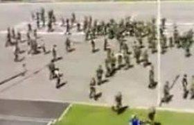 Уволены командиры подразделения танковой бригады МВО, в которой произошла крупная межэтническая драка. ВИДЕО