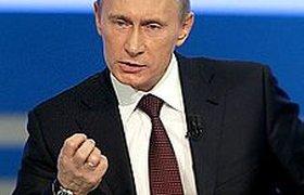 """Целью """"маршей несогласных"""" является провокация, считает Путин. ВИДЕО"""