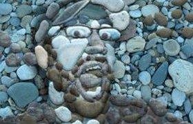 Лицо из камней