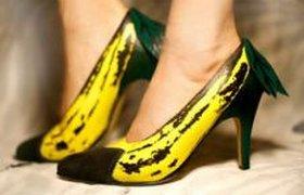 Банановые туфли