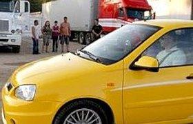 """В """"АвтоГермесе"""" отказываются продавать желтую путинскую Lada Kalina Sport"""