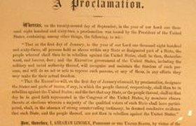 Декларация об отмене рабства из коллекции Кеннеди уйдет с молотка