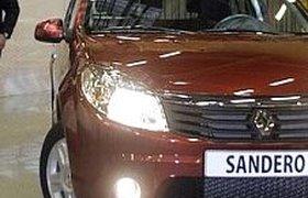 На Renault Sandero образовались полугодовые очереди