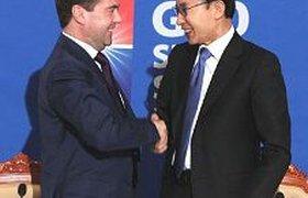 Медведев пригласил корейцев в Сколково и на экономический форум в Петербург