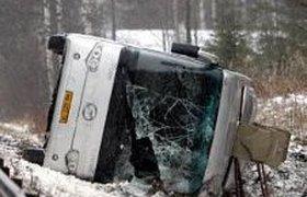 Автобус с россиянами попал в ДТП в Финляндии. ФОТО
