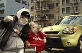 Хомячки-рэперы помогли Kia повысить продажи в США. ФОТО, ВИДЕО