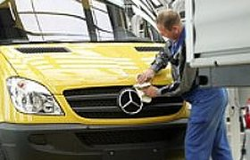 ГАЗ просит льготы для выпуска фургонов Mercedes