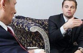 Путин обсудил с Ди Каприо проблему сохранения тигров. ФОТО. ВИДЕО