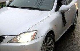 Водитель разбитого Lexus, не уступивший дорогу BMW с мигалкой, заявит в прокуратуру. ФОТО