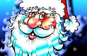 Дед Мороз пустился в пляс