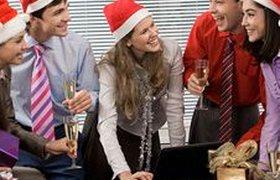 Как российские офисы празднуют Новый год. ВИДЕО