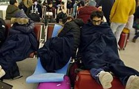 Как переносят непогоду аэропорты мира. ФОТО