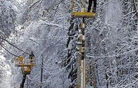 Около 10 тысяч человек остаются без электричества в Подмосковье