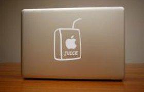 Ноутбук любителя сока