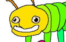 Понедельничная гусеница