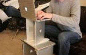 Стол из ноутбуков