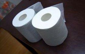 Первоапрельская туалетная бумага.ФОТО.